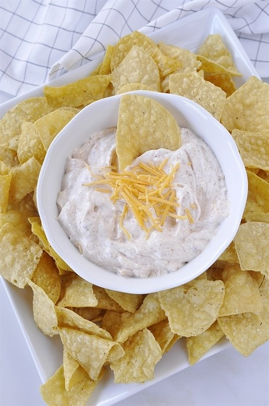 The only other thing you need is some tortilla chips!