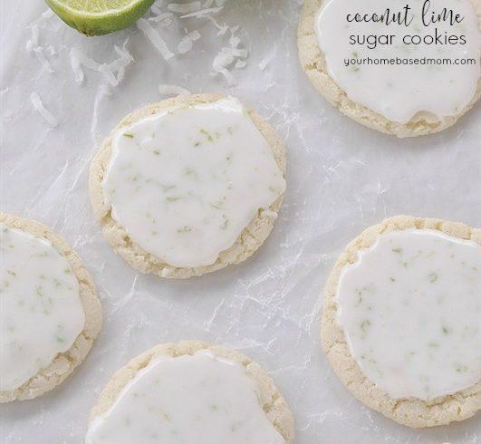 Coconut Lime Sugar Cookies