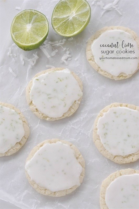 the coconut… the song got it right. Coconut and Lime Sugar Cookies ...