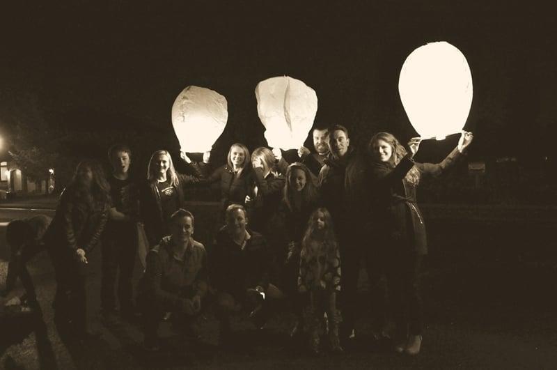Memorial Lantern Launch