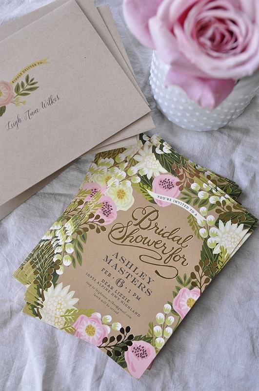 Minted Bridal Shower Invite