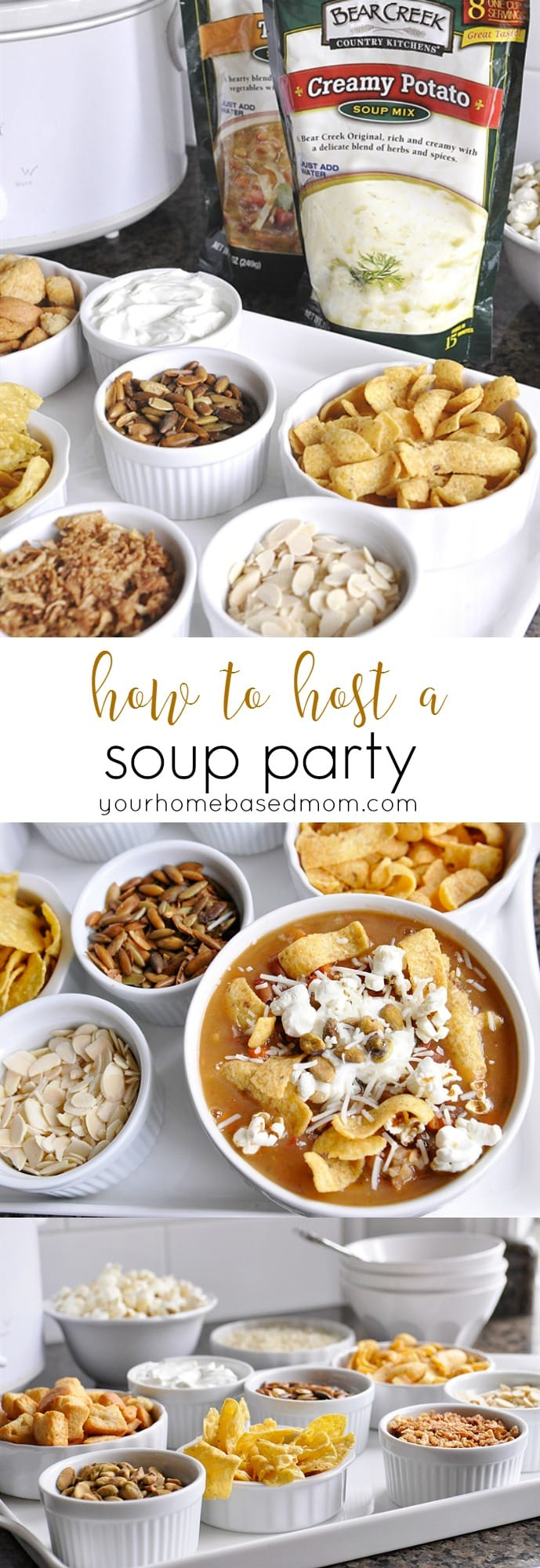 How to Host a Soup Party from @yourhomebasedmom.com
