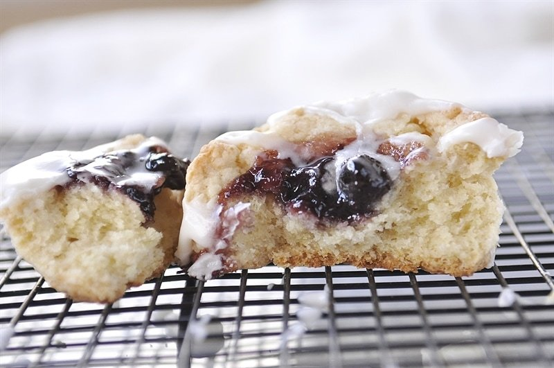 Jam Thumbprint Scones