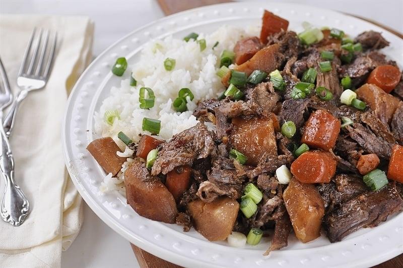 asian pot roast slow cooker recipe