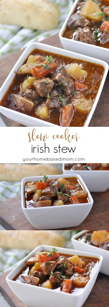 Irish Stew - delicious Irish Stew slow cooker recipe