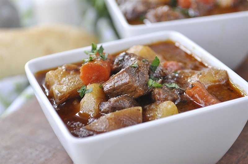 Slow Cooker Irish Stew