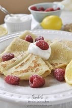 Swedish Lemon Pancakes