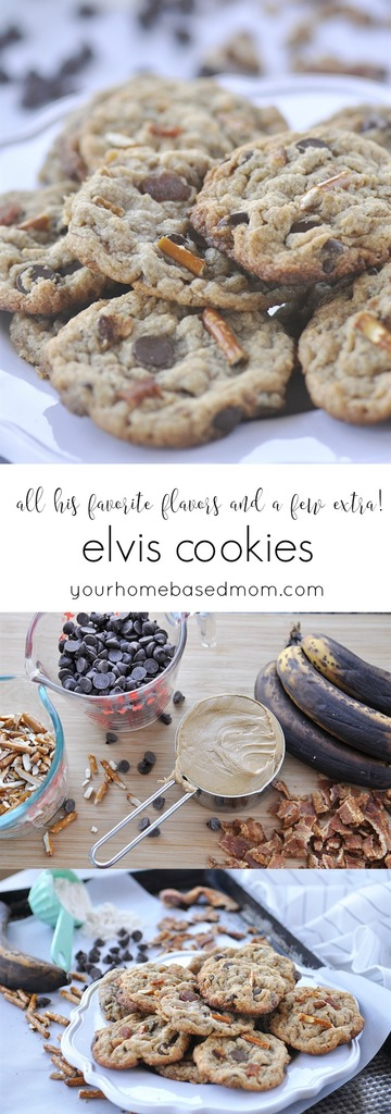 Elvis Cookies - all his favorite flavors and a few extra C