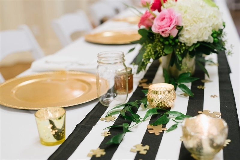 Kate Spade Inspired Wedding Dinner