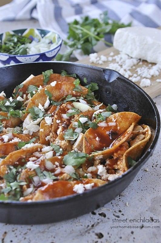 Street Enchiladas