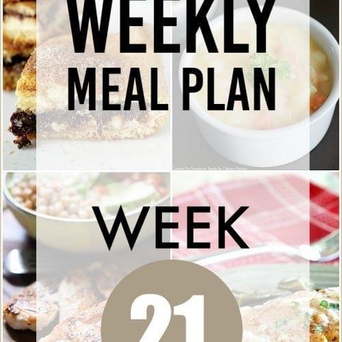 This Week for Dinner}Weekly Meal Plan #21