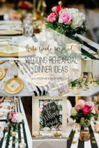 Wedding Rehearsal Dinner Ideas