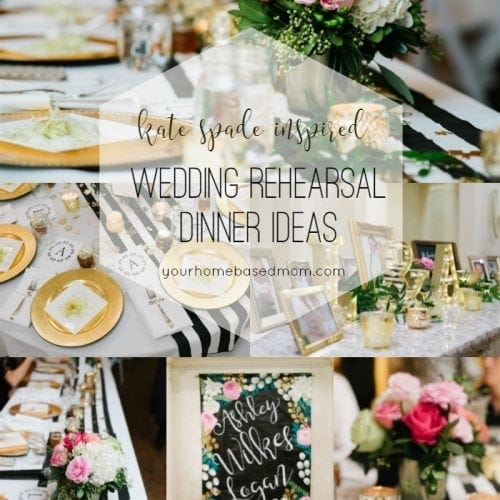Ideas For Wedding Rehearsal Dinner: Your Homebased Mom