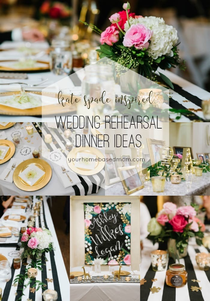 Wedding Rehearsal Dinner Ideas - Your Homebased Mom