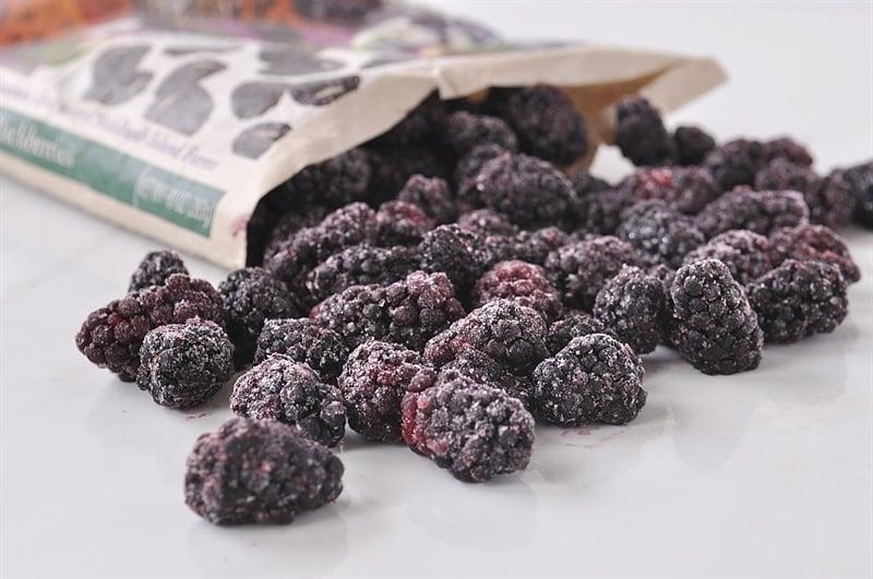 Frozen Oregon Berries