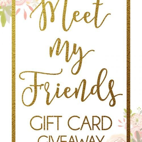 $500.00 GIFT CARD}Meet My Friends Giveaway!!
