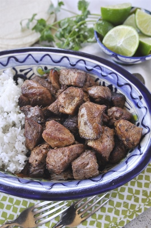 Pork Carnitas with Cilantro Lime Rice