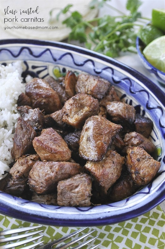 Mexican Slow Cooked Pork Carnitas Recipe — Dishmaps