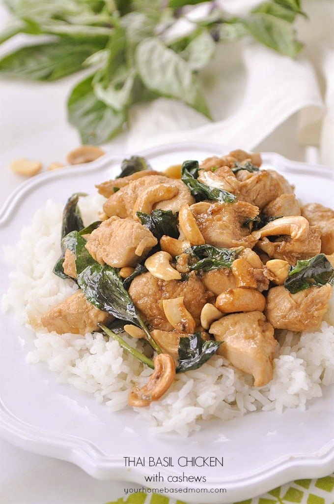 Thai Basil Cashew Chicken