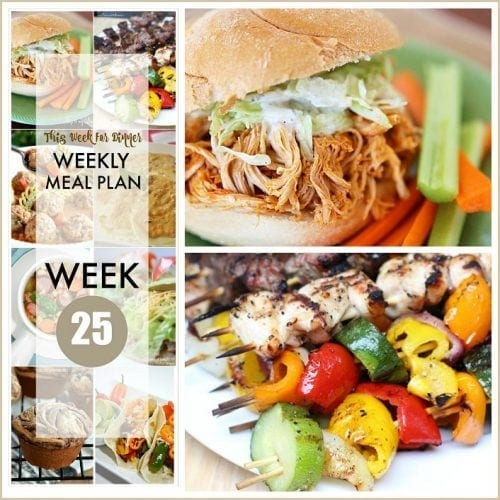This Week for DInner}Weekly Meal Plan #25