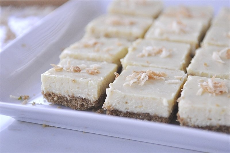 citrus cheesecake bars