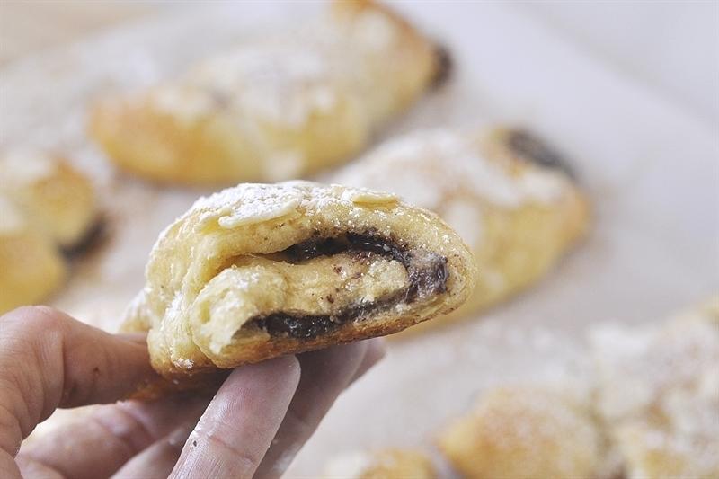 Chocolate Almond Chocolate Almond Croissant