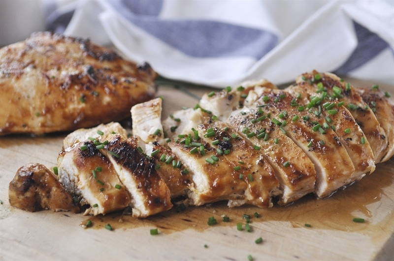 this honey mustard grilled chicken, no marinating required. The honey ...