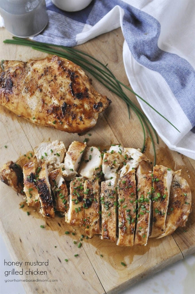 Honey Mustard Grilled Chicken - your homebased mom
