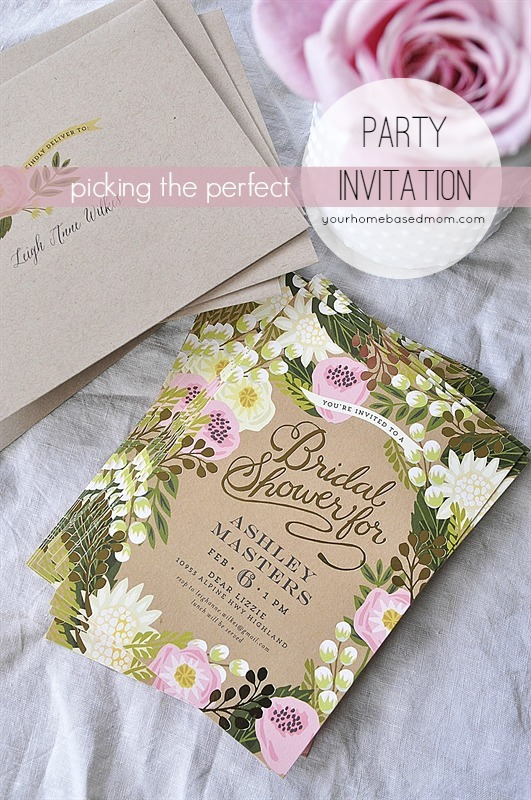 Picking the Perfect Party Invitation