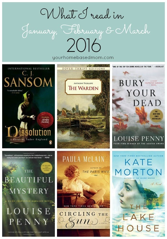 Recommended Reads - Jan, Feb, March 2016