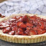 Strawberry Lemon Cheesecake Tart