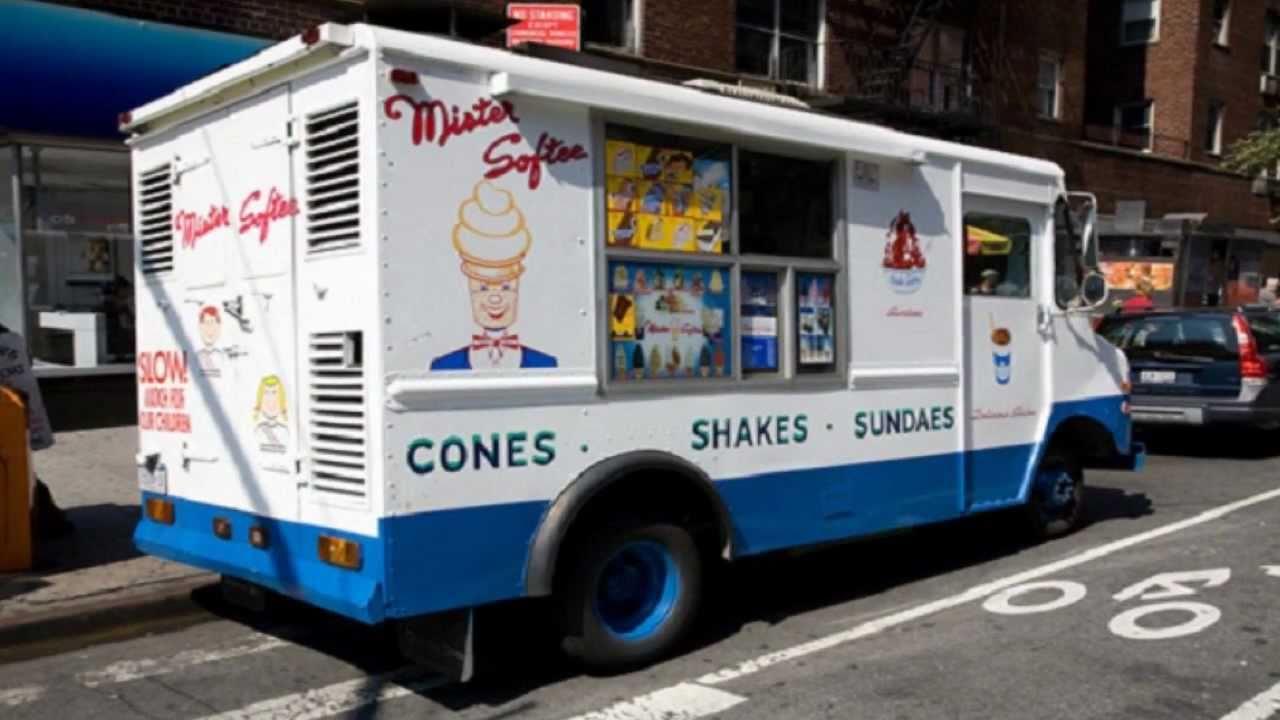 Mr Softee Ice Cream Truck