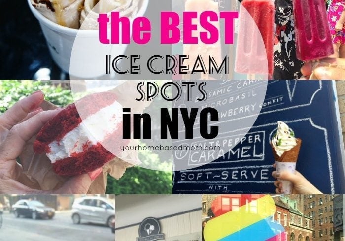 the best ice cream spots in NYC