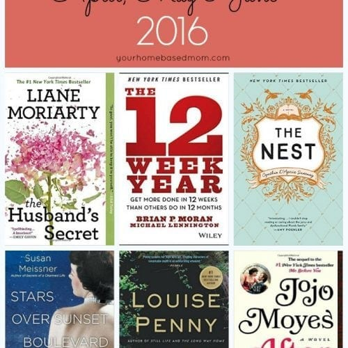 April, May and June 2016 Recommended Reads