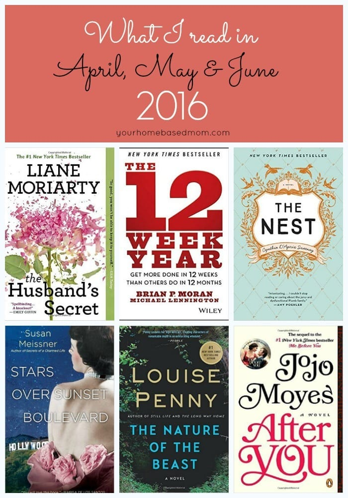 April, May June 2016 Recommended Reads