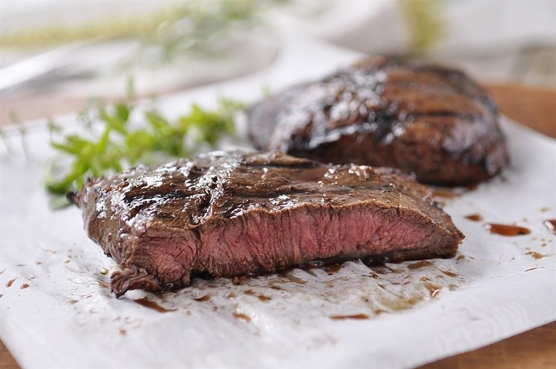 Balsamic Herbed Flat Iron Steak