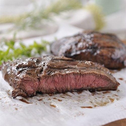 Balsamic Herbed Flat Iron Steak