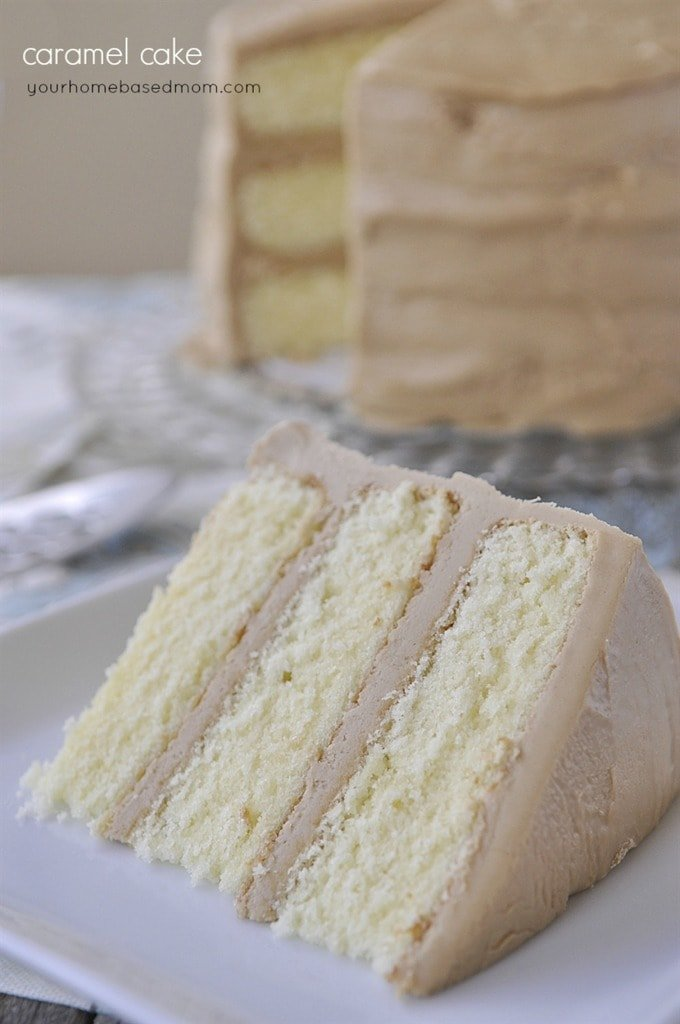 Caramel Cake - it's all in the frosting!