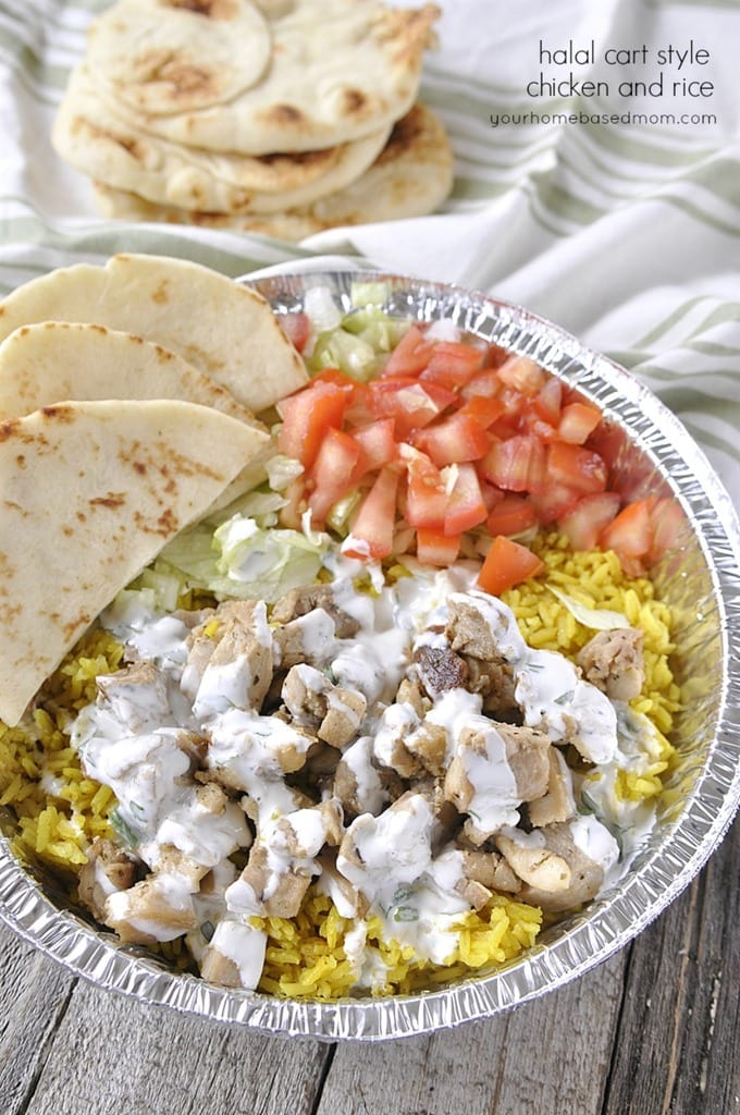 Halal cart style chicken and rice your homebased mom halal cart style chicken and rice forumfinder Images
