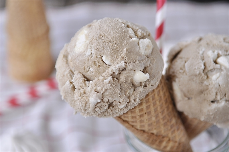 Root Beer Float Ice Cream