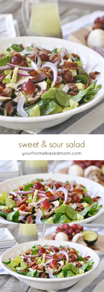 sweet and sour salad C