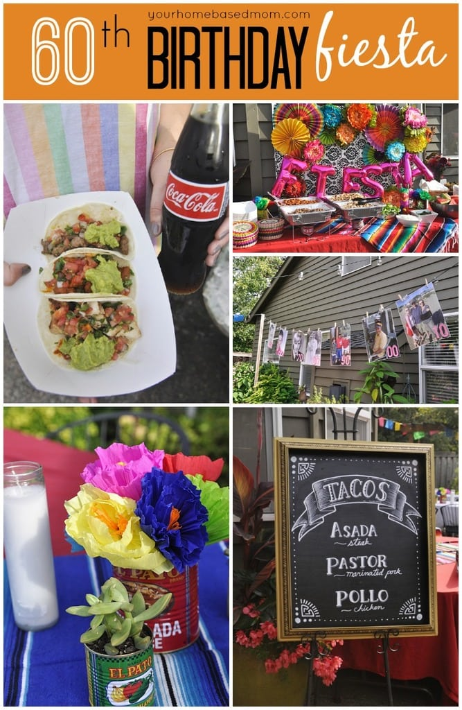 60th Birthday Fiesta Your Homebased Mom