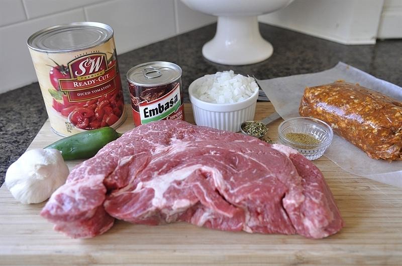Beef Tinga Ingredients