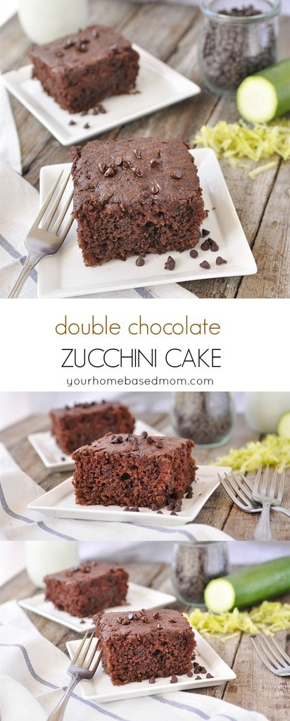 Double Chocolate Zucchini Cake - nobody will even know this dessert is healthy if you don't tell them what's in it!