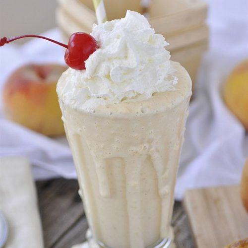 Fresh Peach Shake