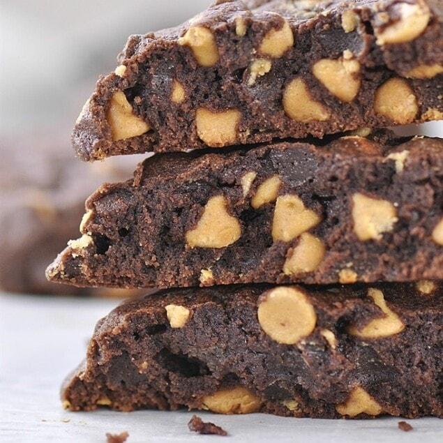 Levain Bakery Chocolate Peanut Butter cookies