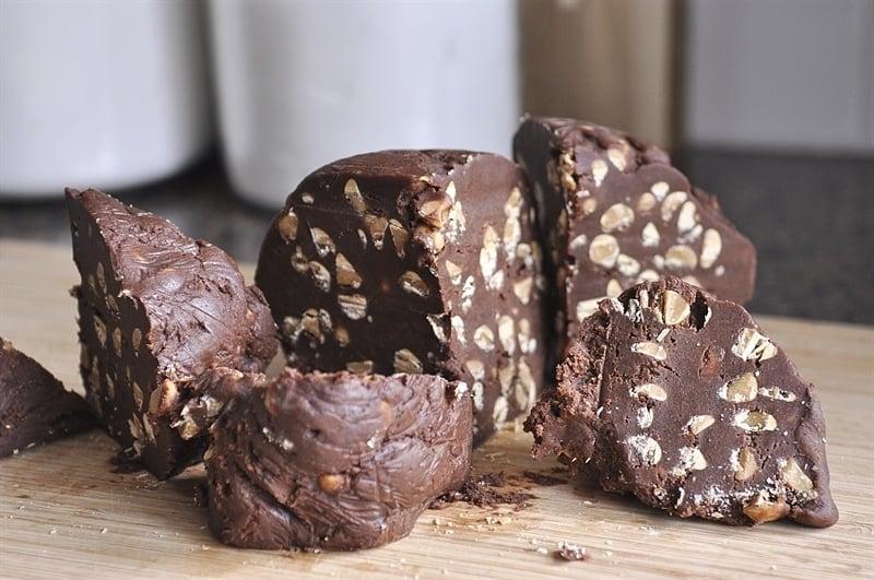 Chocolate Peanut Butter cookie dough