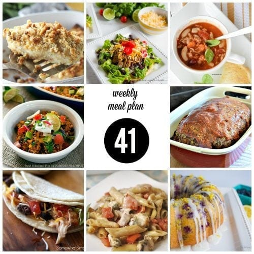 Weekly Meal Plan 41 FB