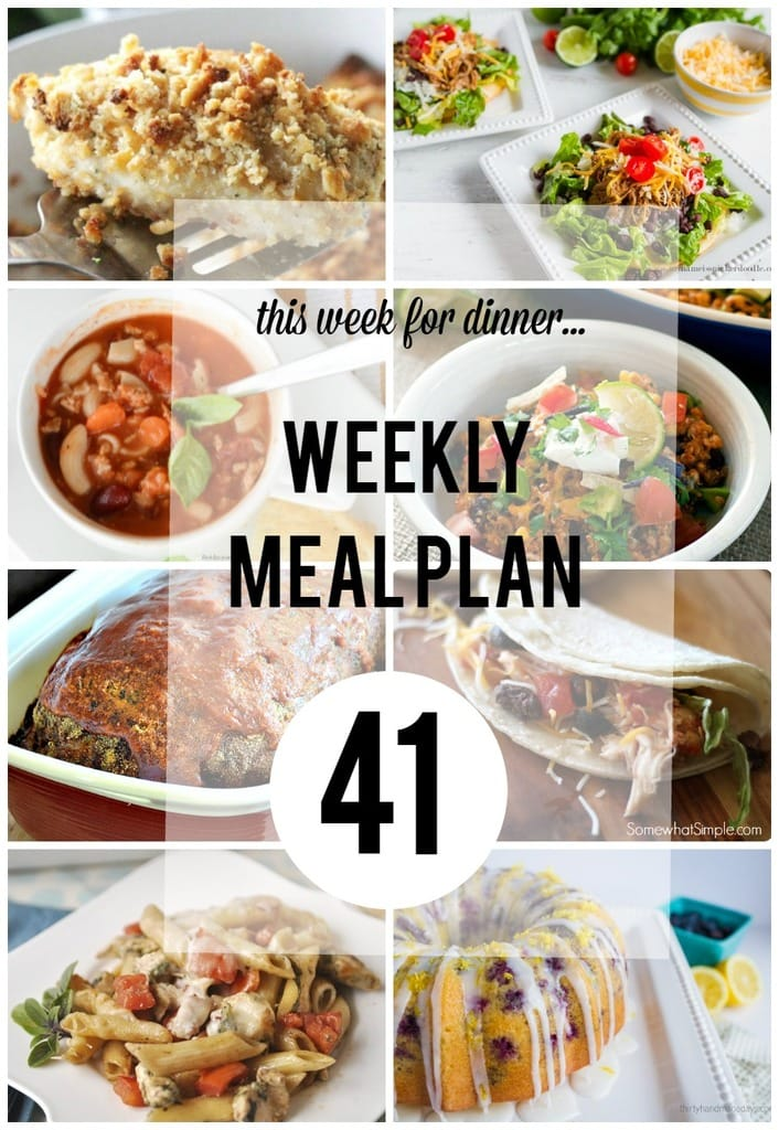 Weekly Meal Plan 41