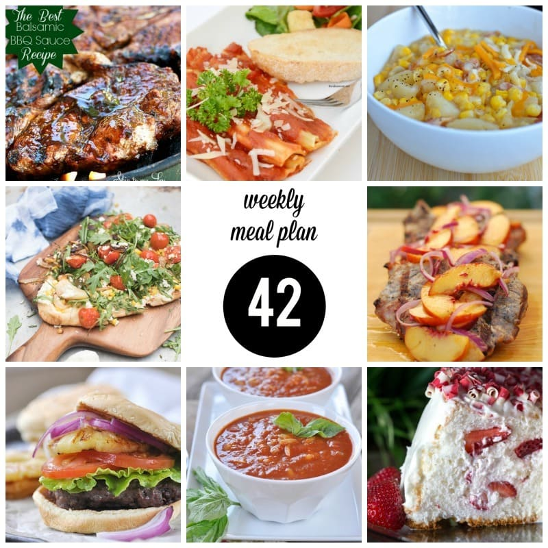 Weekly Meal Plan 42 square